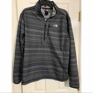 The North Face half zip men's jacket pullover